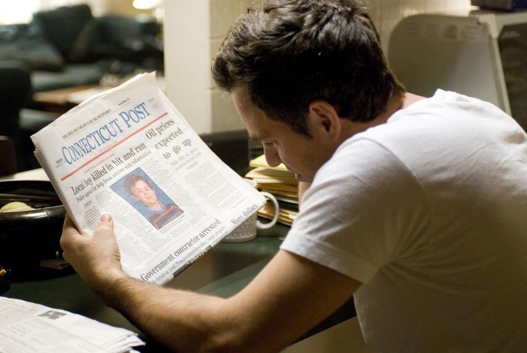 Als der Anwalt Dwight Arno (Mark Ruffalo) auf einer dunklen Waldstraße den 10-jährigen Josh Leaner überfährt, flieht er total geschockt vom Tatort.... - Bildquelle: TOBIS Film