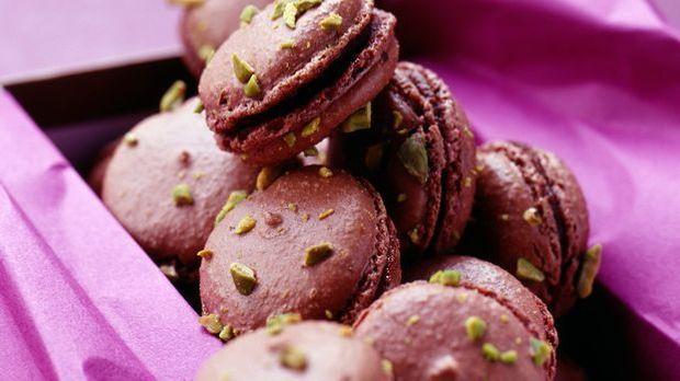 Leckeres Plätzchen-Rezept: Macarons aus Pflaumenmus