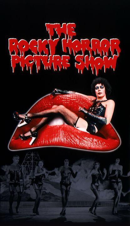 """""""Die Rocky Horror Picture Show"""" - Artwork - Bildquelle: 1975 Houtsnede Maatschappi N.V."""