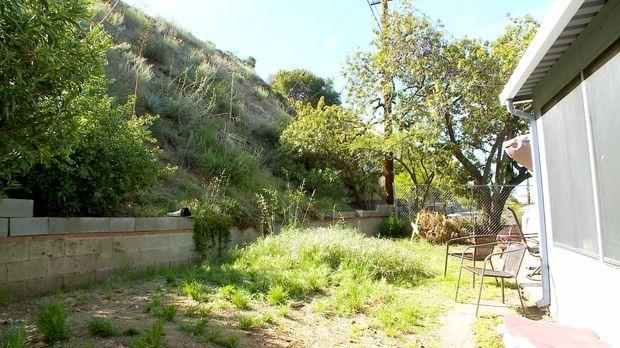 Seit Nick und Janette in ihrem Haus wohnen, haben sie ihren Garten immer gemi...