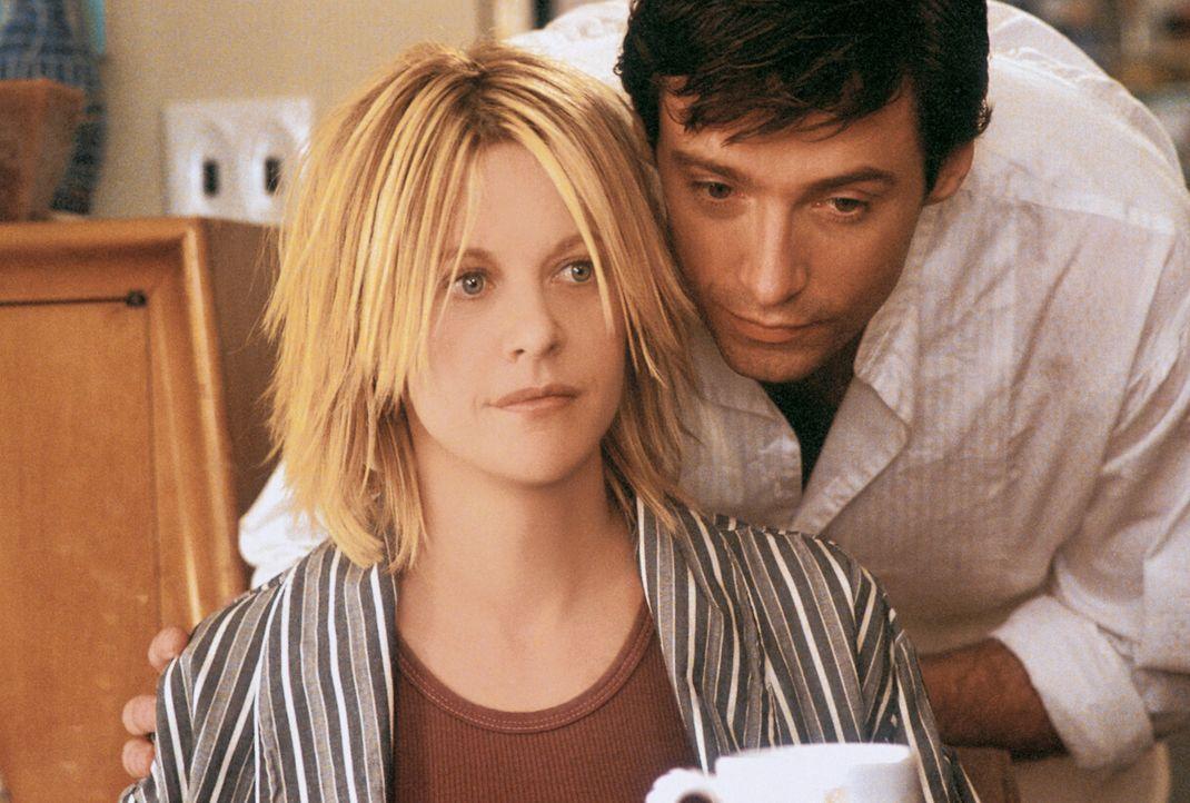 Schon bald verliert Leopold (Hugh Jackman, r.) sein Herz an die attraktive Kate (Meg Ryan, l.). Doch diese denkt nur an ihre Karriere ... - Bildquelle: 20th Century Fox of Germany
