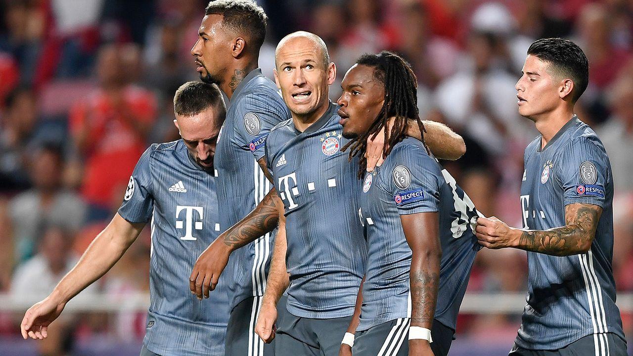 Platz 5: FC Bayern München - Bildquelle: 2018 Getty Images