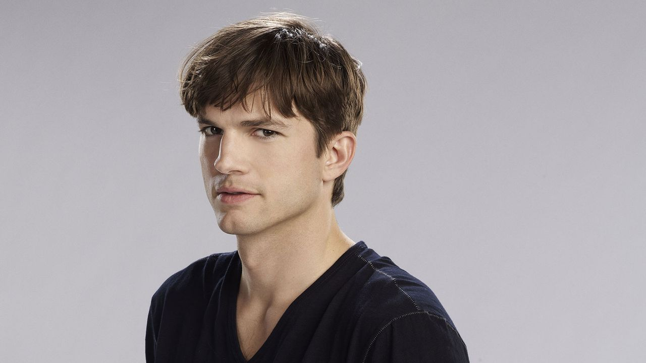 "Ashton Kutcher spielt in ""Two and a half Men"" Walden Schmitt"