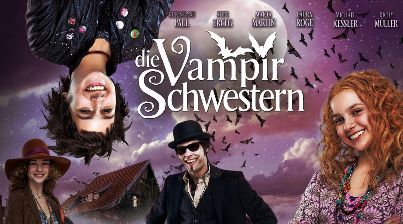 DIE VAMPIRSCHWESTERN - Plakatmotiv - Bildquelle: 2012 Claussen+Woebke+Putz Filmproduktion GmbH / Deutsche Columbia Pictures Filmproduktion GmbH. All Rights Reserved.