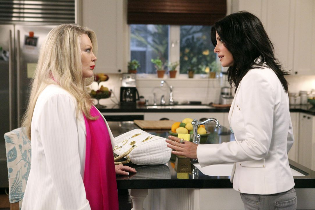 Wer ist die bessere Mutter-Freundin? Sheila (Beverly D'Angelo, l.) oder Jules (Courteney Cox, r.) ... - Bildquelle: 2009 ABC INC.