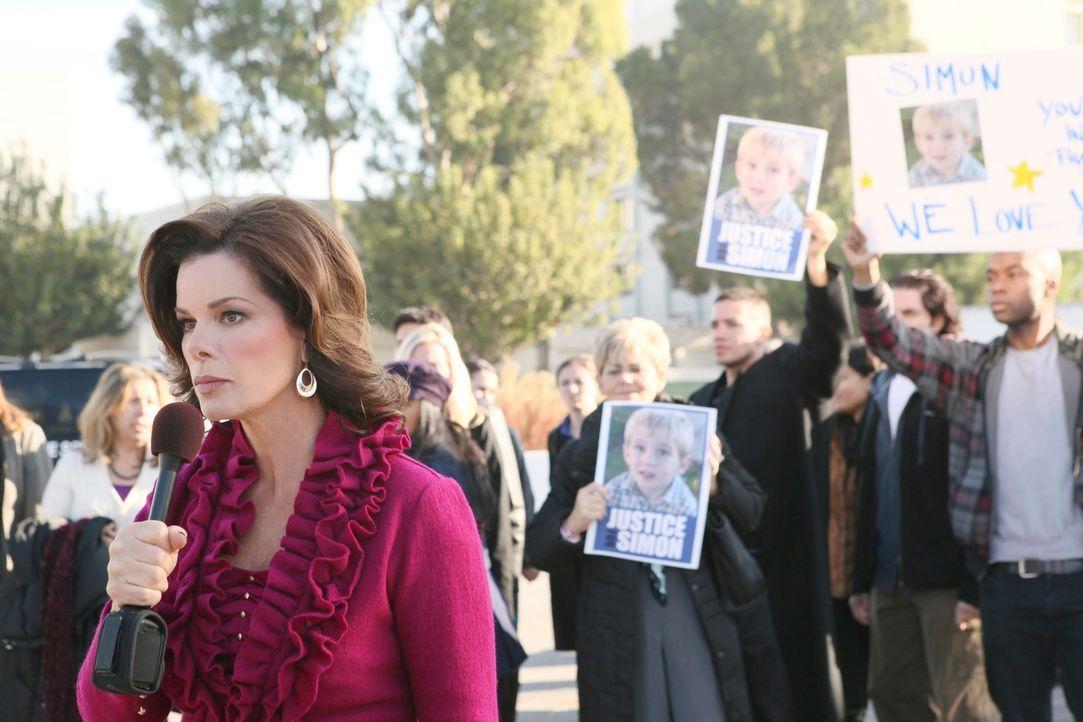 Hillary Stone wird von Richterin Joan Hunt des Mordes an ihrem Sohn freigesprochen. Die Öffentlichkeit ist empört und glaubt an einen Justizirrtum.... - Bildquelle: 2011 American Broadcasting Companies, Inc. All rights reserved.