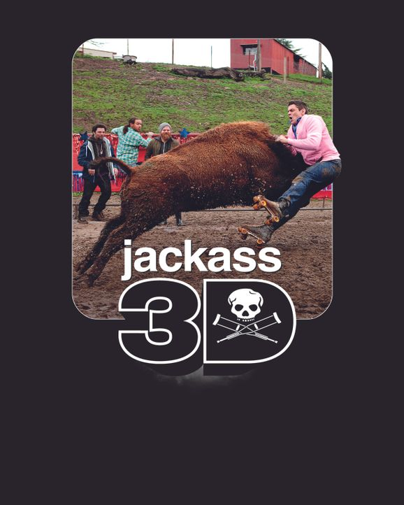 JACKASS 3D - Plakatmotiv - Bildquelle: 2010 PARAMOUNT PICTURES. ALL RIGHTS RESERVED.