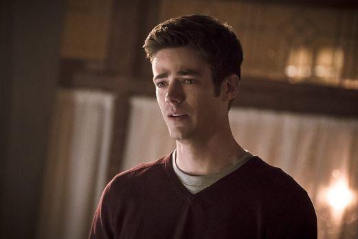 The Flash - In einer Art Zwischenwelt trifft Barry (Grant Gustin) auf die Que...