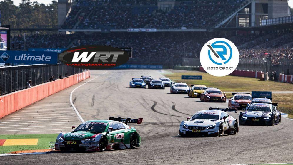 R-Motorsport und WRT sind 2019 die beiden neuen Teams in der DTM - Bildquelle: imago / Screenshot www.w-racingteam.com & www.r-motorsport.com/