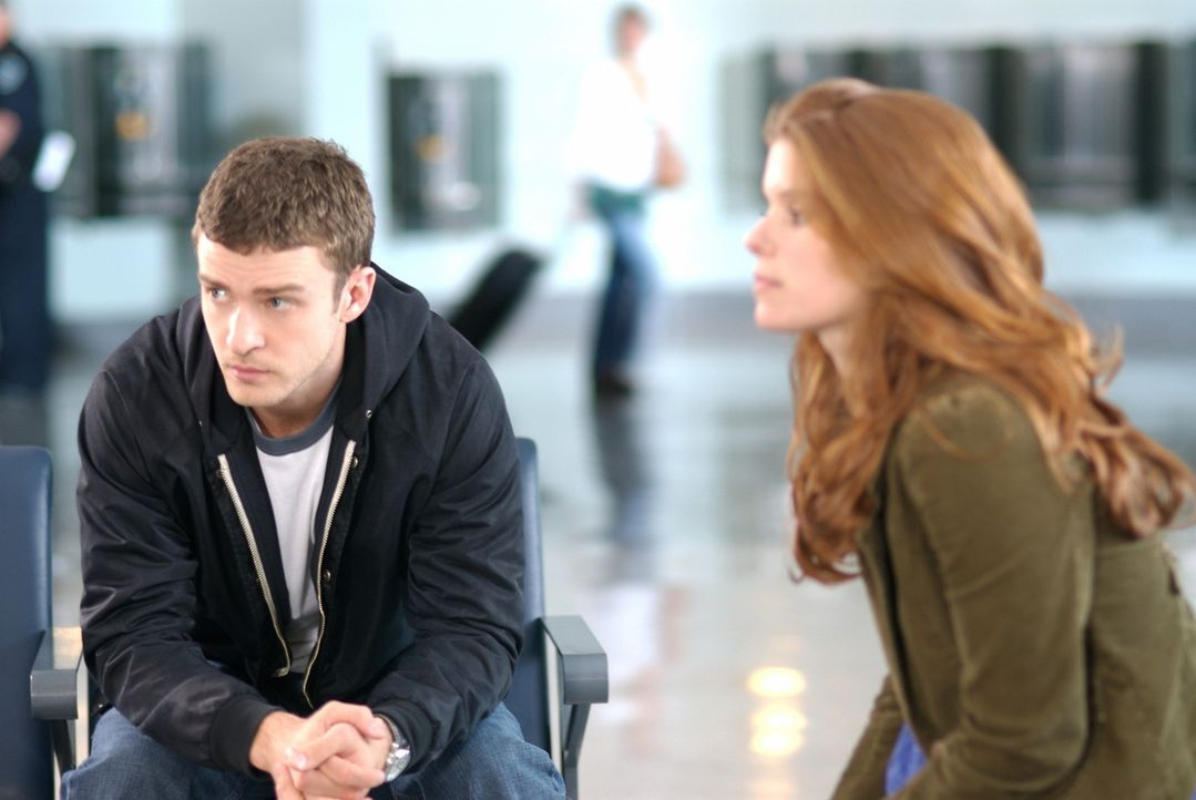 Ihre Reise ist von Missgeschicken geprägt, aber endlich kommen Carlton (Justin Timberlake, l.) und Lucy (Kate Mara, r.) in Florida an. Doch das erst... - Bildquelle: 2008 BY OPEN ROAD INVESTMENTS, LLC. ALL RIGHTS RESERVED
