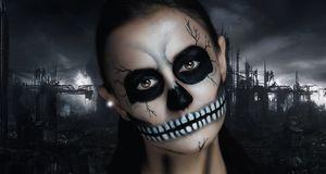Totenkopf Schminken Gruseliges Make Up Sat 1 Ratgeber