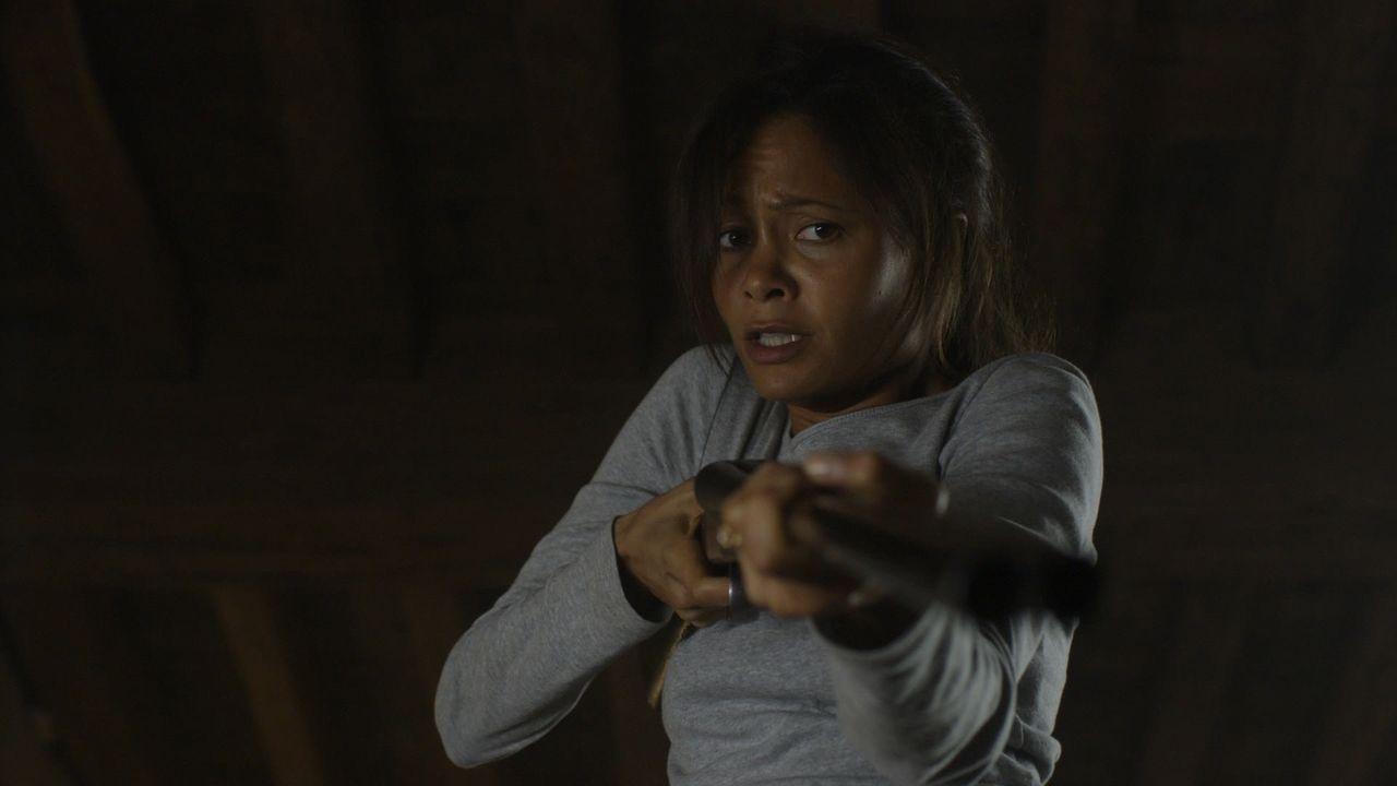 Wer ist der Fremde? Ein bitterböser Psychopath oder ein Lebensretter? Kate (Thandie Newton) steht vor einer schwierigen Entscheidung ... - Bildquelle: 2011 Sony Pictures Television Inc. All Rights Reserved.