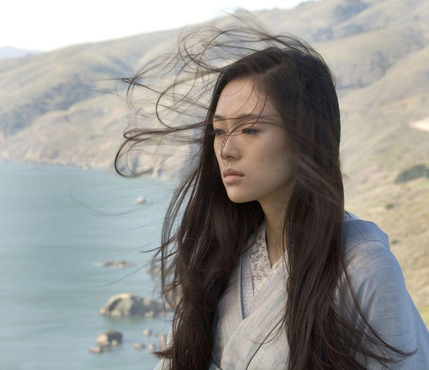 Als der Krieg ausbricht, wird aus der berühmten Geisha Sayuri (Ziyi Zhang) wieder das Mädchen Chiyo. Unerkannt arbeitet sie in den Bergen als Stof... - Bildquelle: 2005 Sony Pictures Television International.