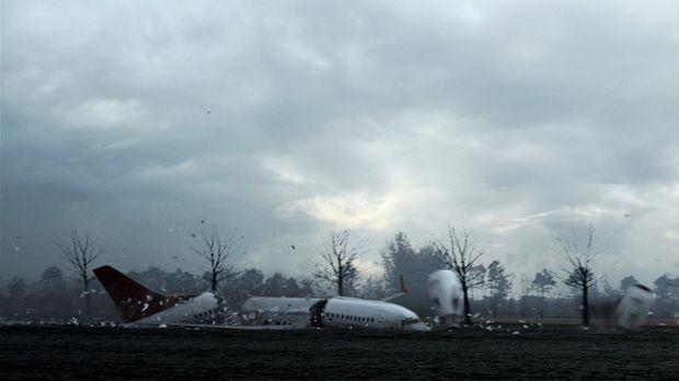 Februar, 2009: Auf ihrem Weg von Istanbul steuert die Maschine des Turkish Ai...