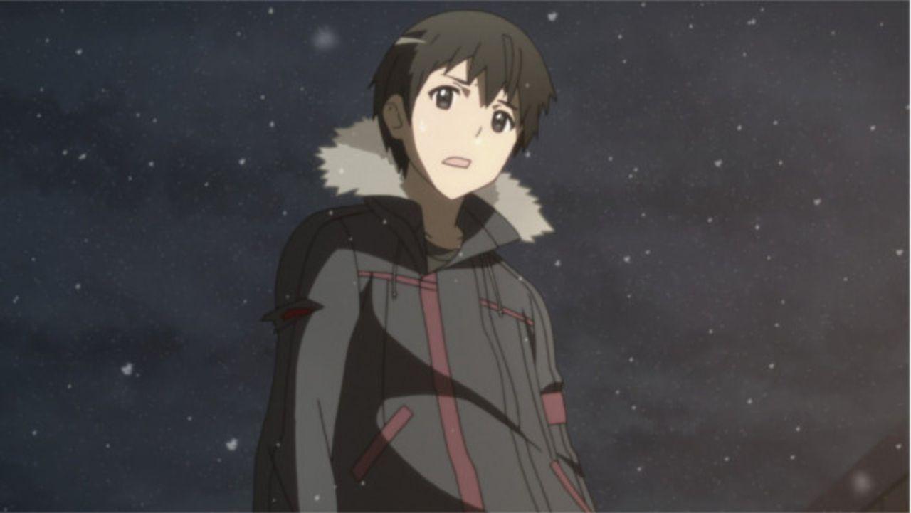 Zurück in der realen Welt eilt Kazuto alias Kirito (Bild) zum Krankenhaus, um Asuna endlich im wahren Leben wiederzusehen. Doch auf dem Weg wird er... - Bildquelle: REKI KAWAHARA/ASCII MEDIA WORKS/SAO Project
