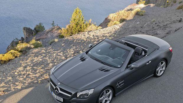 Jan Stecker testet den neuen Mercedes SL unter spanischer Sonne ... © Mercede...