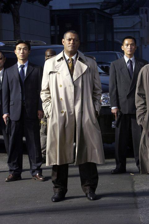 Ein eiskalter Chef: Brassel (Laurence Fishburne). Aber ist er auch ein Verräter? - Bildquelle: 2005 by PARAMOUNT PICTURES. All Rights Reserved.