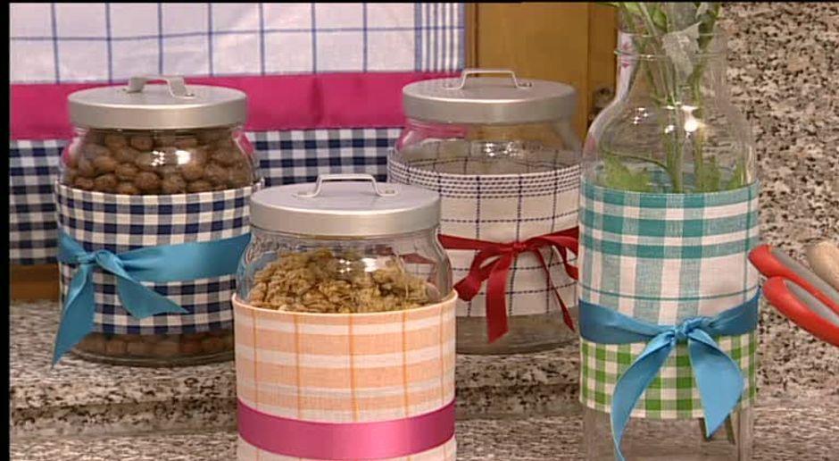 Basteln: Aus Geschirrtüchern wird Küchendeko - SAT.1 Ratgeber