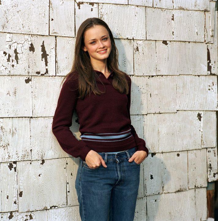 (3. Staffel) - Lässt sich auch von kleinen Rückschlägen nicht einschüchtern: Rory (Alexis Bledel) ... - Bildquelle: 2002 Warner Bros.