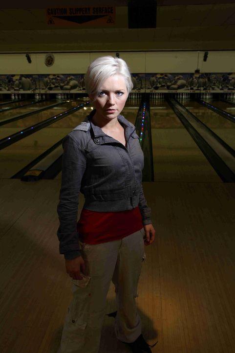 Gemeinsam mit Connor, Stephen und Cutter geht Zoologin Abby Maitland (Hannah Spearritt) auf Monsterjagd in einem Einkaufszentrum ... - Bildquelle: ITV Plc