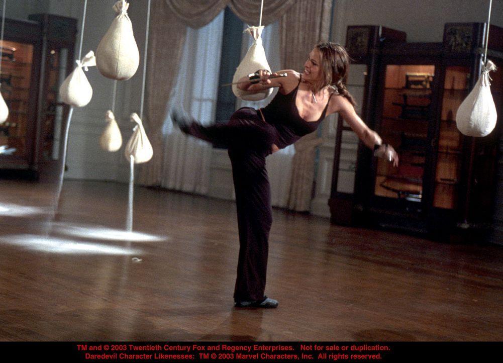 Überlebenstraining: Elektra (Jennifer Garner) ... - Bildquelle: 20th Century Fox