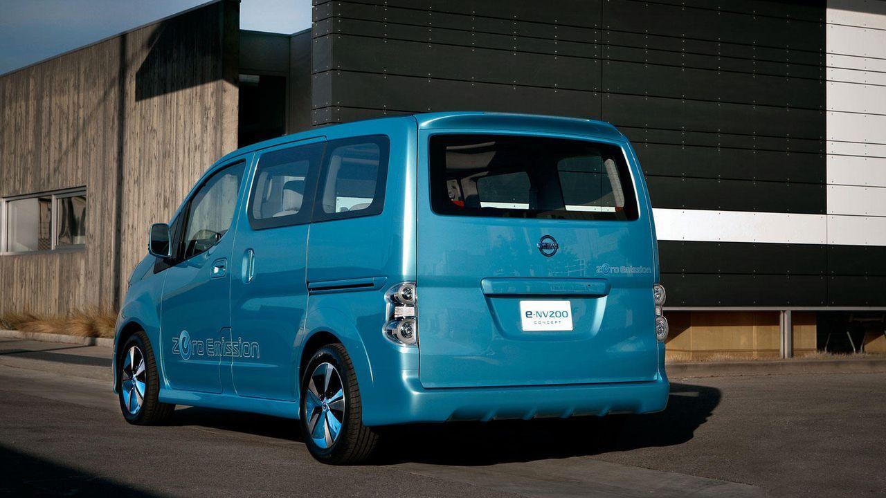 Nissan e NV200 - Bildquelle: Nissan