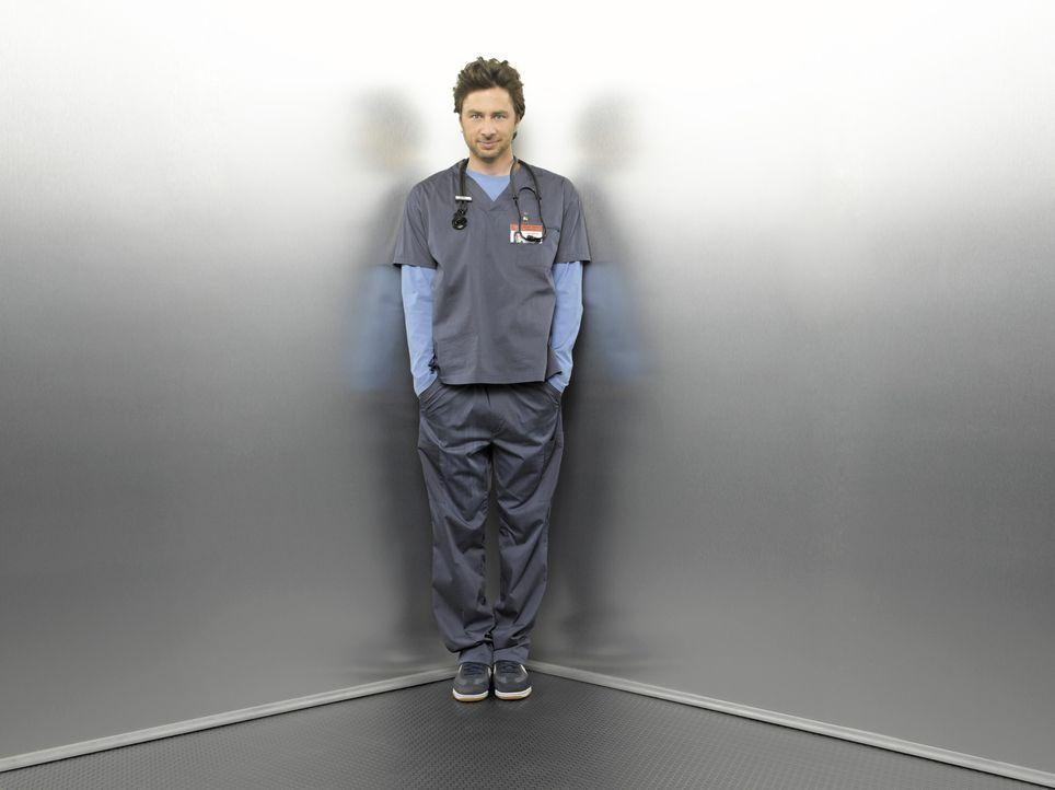 (8. Staffel) - Private und berufliche Herausforderungen warten täglich auf J.D. (Zach Braff) ... - Bildquelle: Touchstone Television
