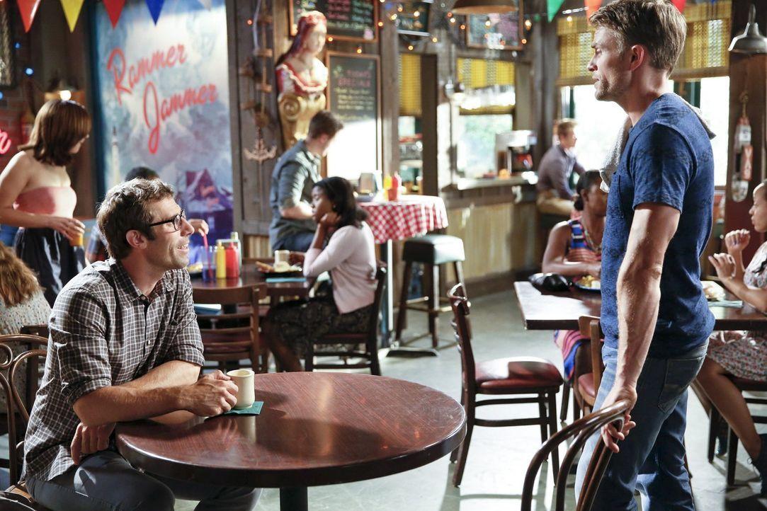 Neue beste Freunde: Joel (Josh Cooke, l.) und Wade (Wilson Bethel, r.) ... - Bildquelle: Warner Brothers