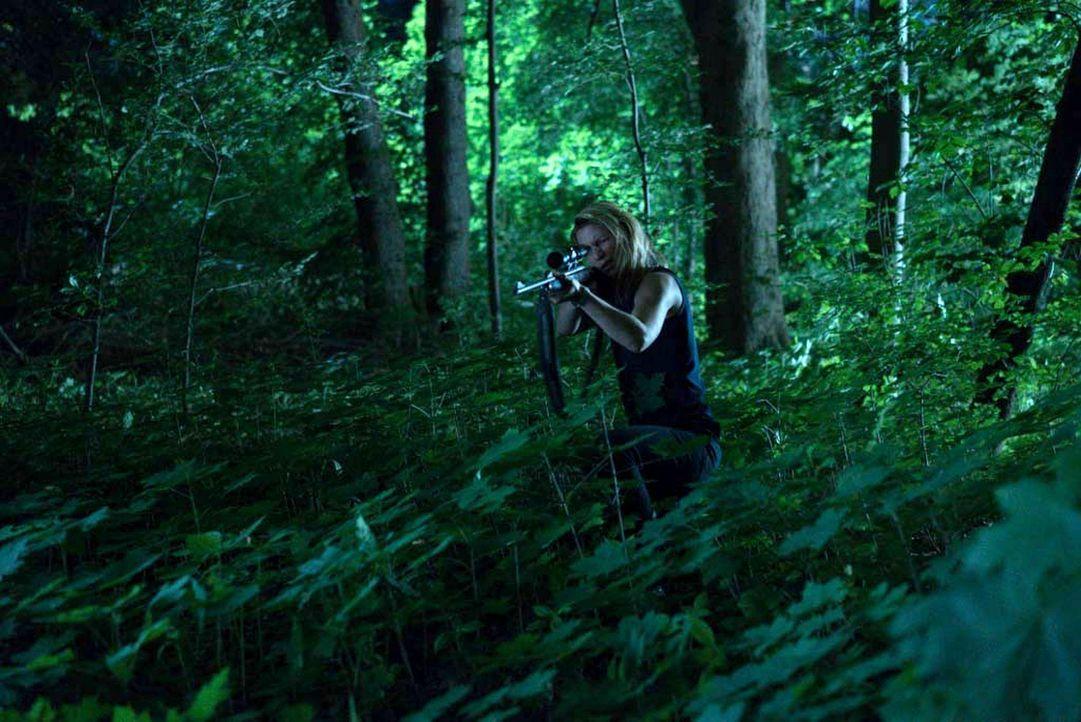 Ist in großer Gefahr - doch wird es ihr gelingen ihrem Verfolger zu entkommen: Carrie (Claire Danes) ... - Bildquelle: Stephan Rabold 2015 Showtime Networks, Inc., a CBS Company. All rights reserved.