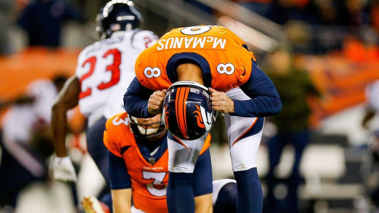 Verlierer: Brandon McManus - Bildquelle: Getty Images