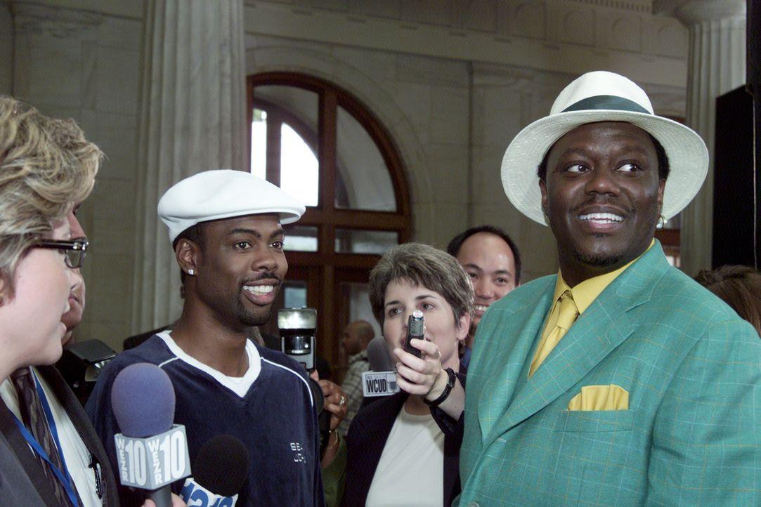 Vorort-Politiker Mays Gilliam (Chris Rock, l.) und sein Bruder Mitch (Bernie Mac, r.) sind auf dem besten Weg, das Weiße Haus einzunehmen ... - Bildquelle: DreamWorks SKG