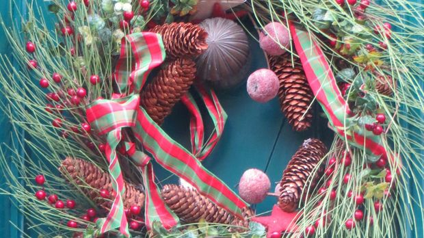 Weihnachtsdeko Hauseingang Festlich Schm Cken Sat 1