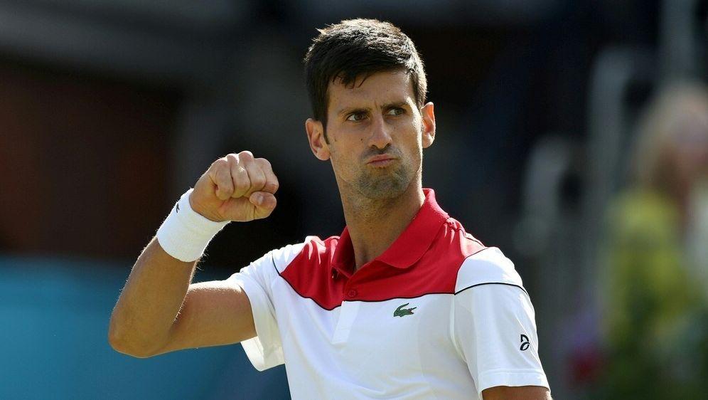 Novak Djokovic (Foto) trifft im Finale auf Marin Cilic - Bildquelle: PIXATHLONPIXATHLONSID