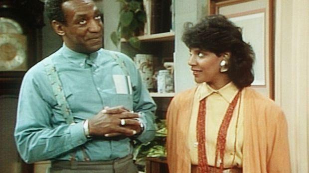 Cliff (Bill Cosby, l.) erinnert sich an die romantischen Rendezvous mit Clair...