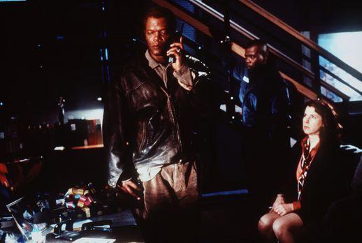 Verhandlungssache - Obwohl Danny Roman (Samuel L. Jackson, l.) der beste Verm...