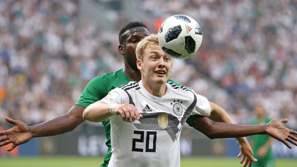 Brandt läuft im Nationalteam nun mit der Nummer 10 auf - Bildquelle: FIROFIROSID