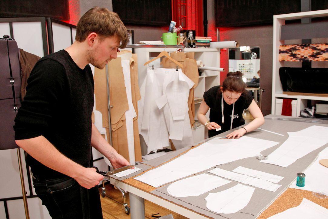 Fashion-Hero-Epi03-Atelier-01-Pro7-Richard-Huebner - Bildquelle: Richard Hübner / Pro 7