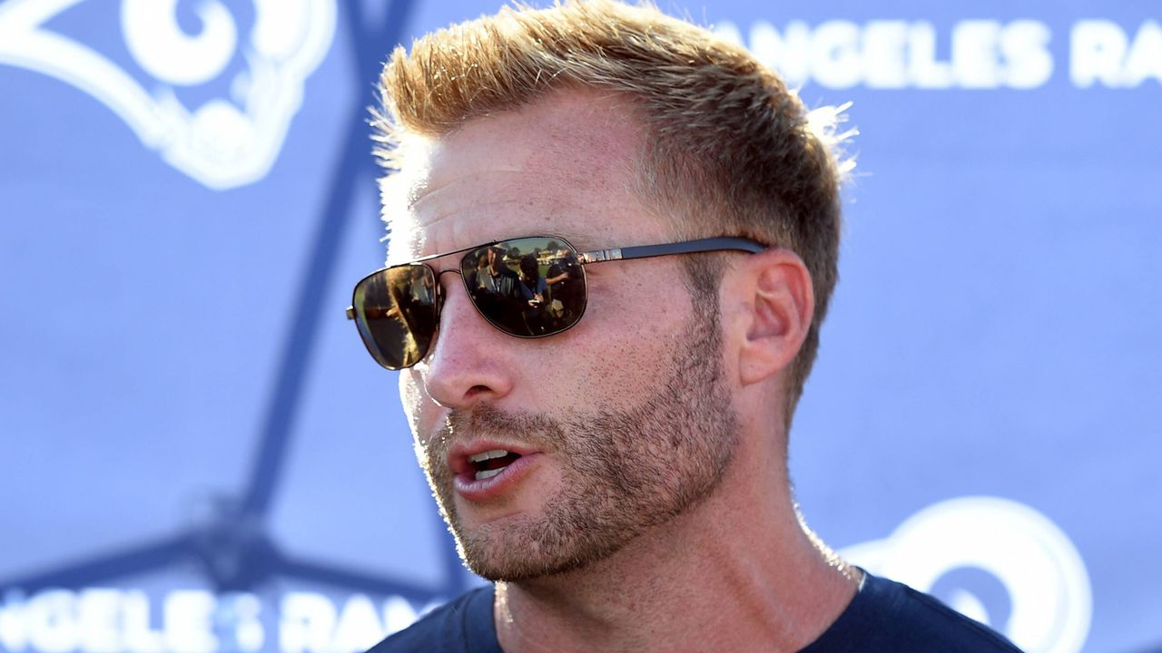 29. Sean McVay (Los Angeles Rams) - Bildquelle: imago/Icon SMI