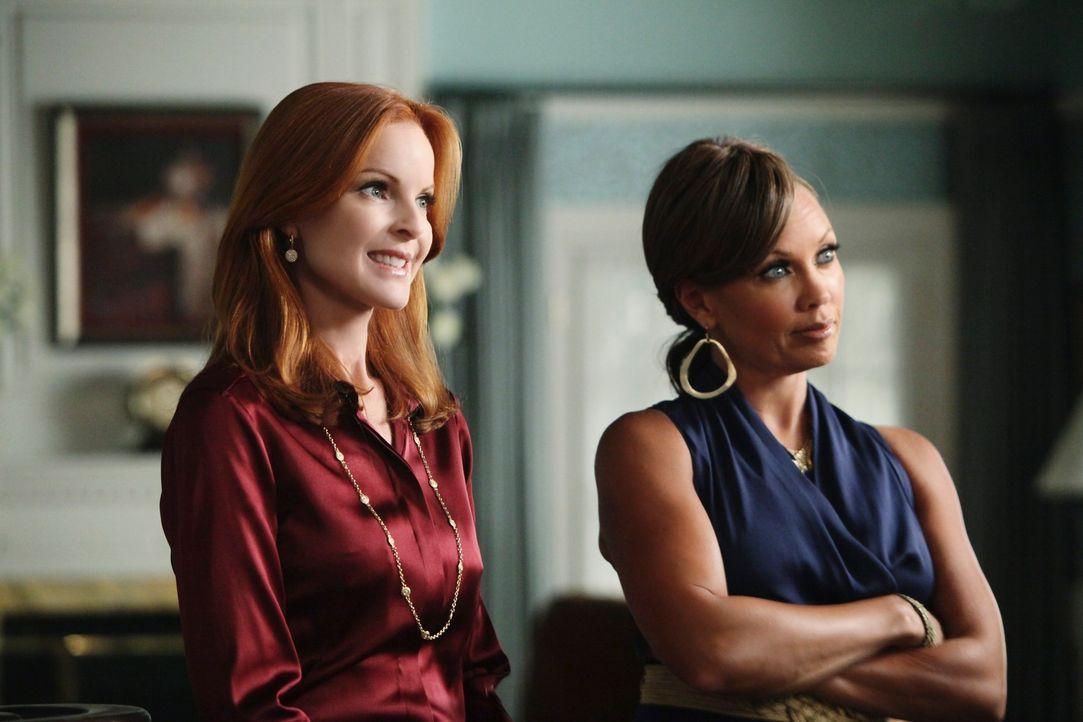 Susan ist geschockt als sie erfährt, dass sie das Werbegesicht der Firma ist, für die sie heimlich arbeitet, womit ihr Geheimnis aufzufliegen droht.... - Bildquelle: ABC Studios