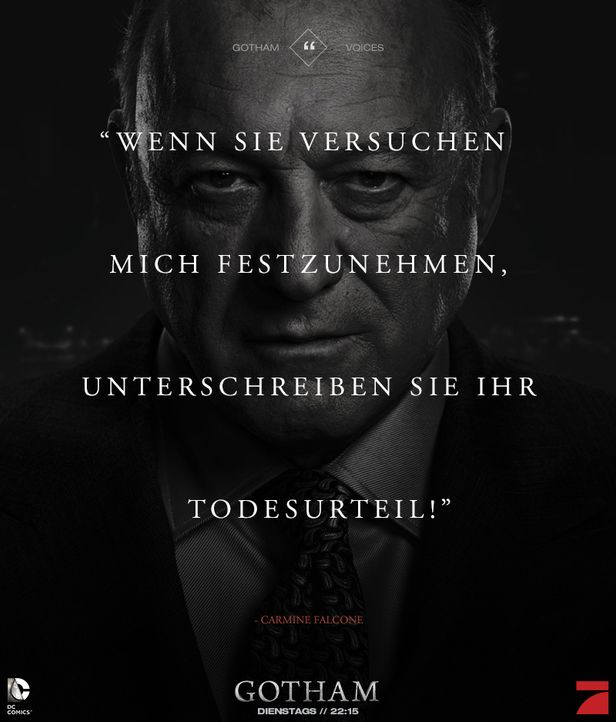 Gotham_Voices_Stimmen_der_Stadt_Zitate_Sprueche_Serie (28) - Bildquelle: DC Comics / Warner Bros. Entertainment, Inc.