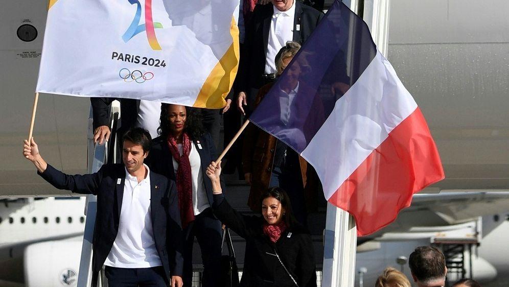 Paris freut sich auf die Olympischen Spiele 2024 - Bildquelle: AFPSIDERIC FEFERBERG