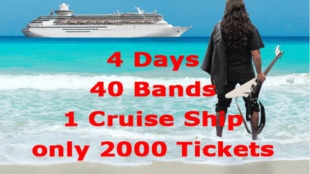 Ein irrer Trip - Die Heavy Metal-Kreuzfahrt ... © SAT.1