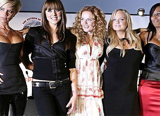 Galerie: Spice Girls - Bildquelle: dpa