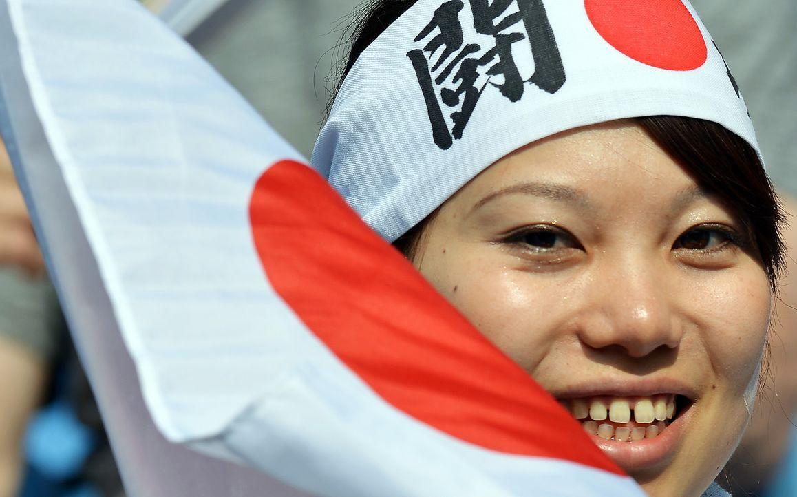 Die japanischen Fans - 6 - Bildquelle: AFP