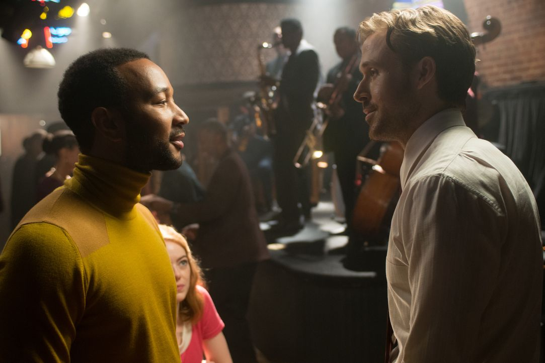 Keith (John Legend, l.); Sebastian (Ryan Gosling, r.) - Bildquelle: Dale Robinette 2016 Summit Entertainment, LLC. All Rights Reserved./ Dale Robinette