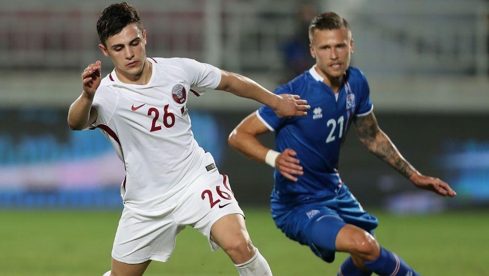 Island und Katar trennen sich mit einem 1:1 - Bildquelle: AFPSIDKARIM JAAFAR