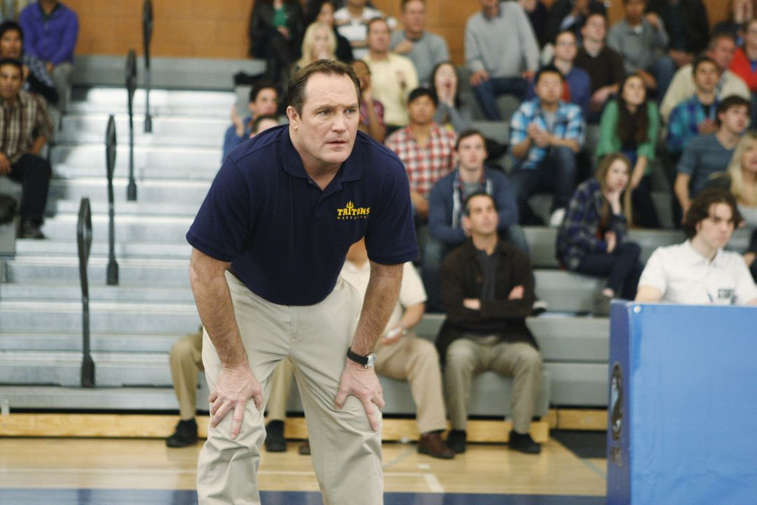 Ahnt nicht, wie es um seinen Schützling Tyler steht: Coach Patterson (Patrick Robert Smith) ... - Bildquelle: ABC Studios