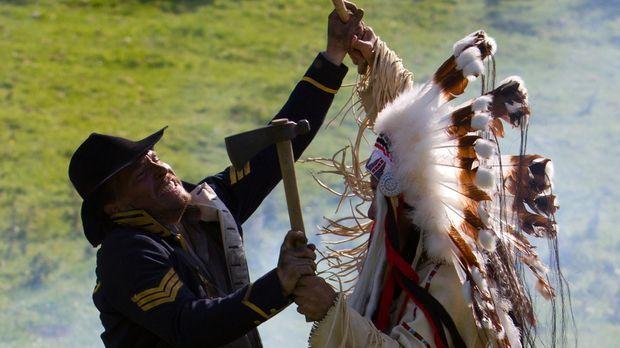 Sitting Bull, der große Häuptling der Geschichte, trotzte den US-Behörden und...