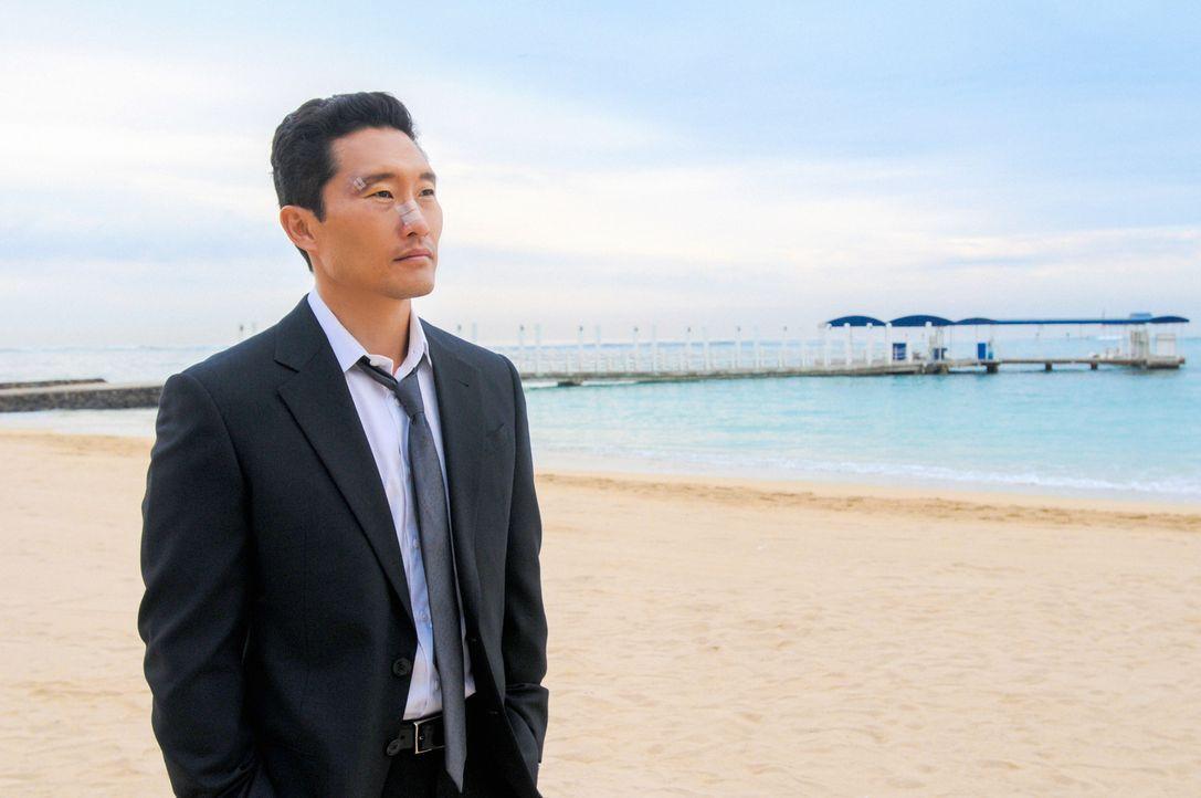 Chin Ho (Daniel Dae Kim) wird von der internen Ermittlung befrag, weil der Verdacht aufgekommen ist, dass er vor fünfzehn Jahren einen Mord vertusch... - Bildquelle: 2013 CBS BROADCASTING INC. All Rights Reserved.