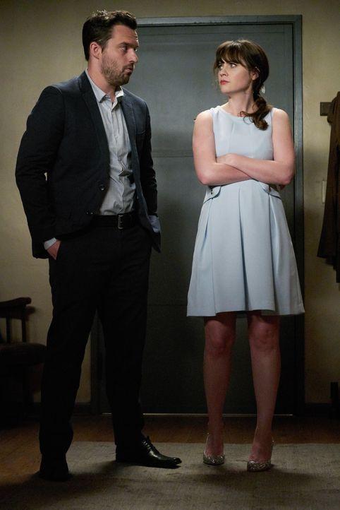 Sind Nick (Jake Johnson, l.) und Jess (Zooey Deschanel, r.) wirklich nur gute Freunde oder ist zwischen den beiden immer noch mehr? - Bildquelle: 2016 Fox and its related entities.  All rights reserved.